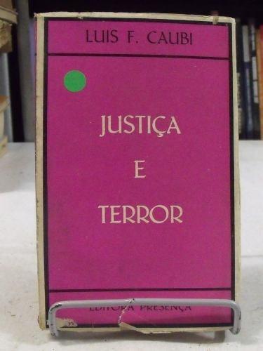 livro - justiça e terror - luis f. caubi