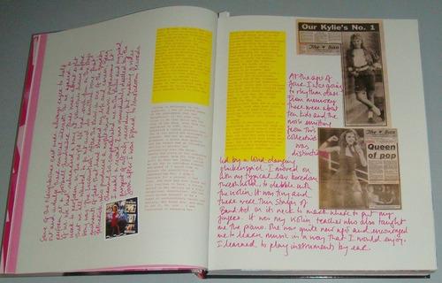 livro kylie minogue la la la ( inglês )