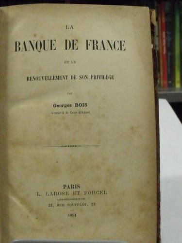 livro la banque de france georges bois