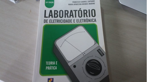 livro laboratório de eletricidade e eletrônica
