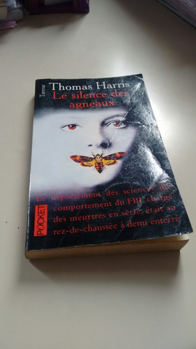 livro le silence des agneaux, thomas harris (usado)