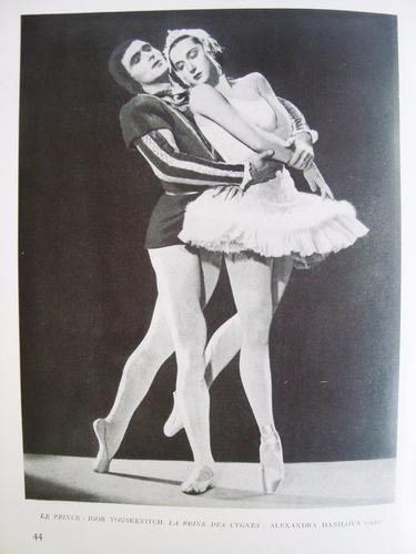 livro les ballets  monte-carlo, balé diaghilev
