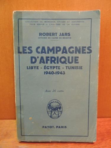 livro les campagnes d'afrique robert jars