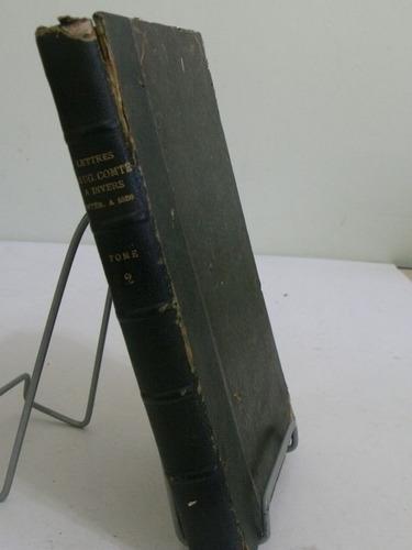 livro - lettres d' aug. comtes tome 2 - comte - em francês