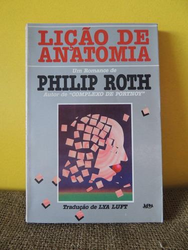 livro lição de anatomia - philip roth