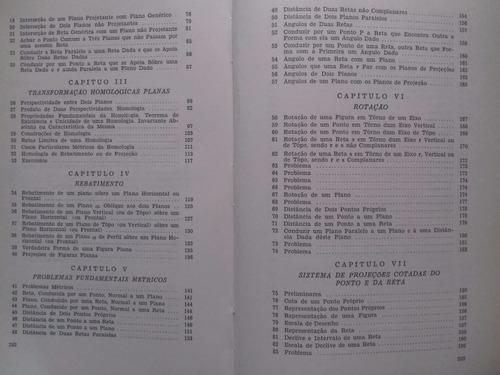 livro - lições de geometria descritiva - josé cavallin