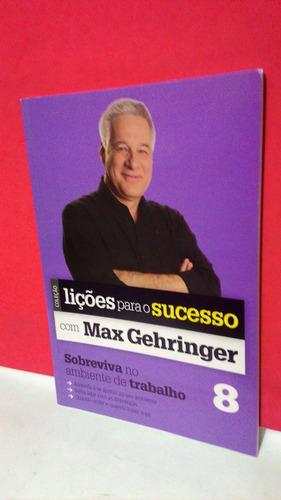 livro lições para o sucesso - marx gehringer vol. 8