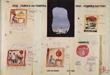 livro lina bo bardi - sesc - fábrica da pompéia, 1977-1986