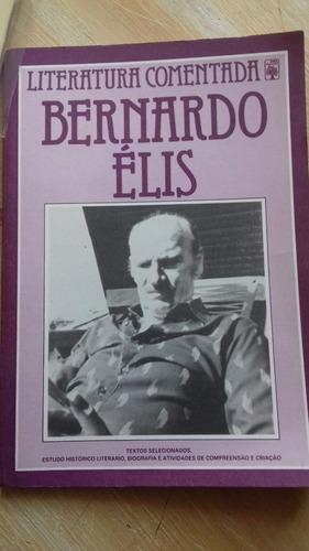 livro - literatura comentada - bernardo élis - textos 1983