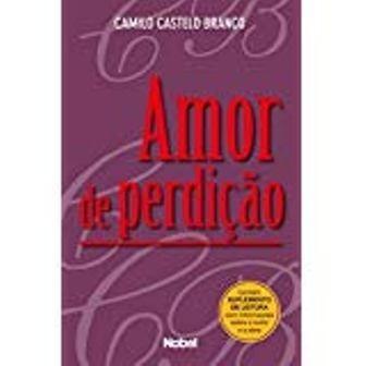 livro - literatura estrangeira-amor de perdição... impecável