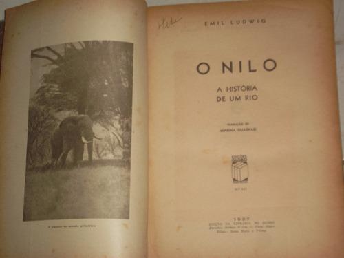 livro - literatura estrangeira - o nilo