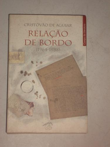 livro-literatura estrangeira-relação de bordo (1964 - 1988)