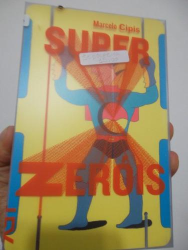 livro - literatura nacional - super zeróis