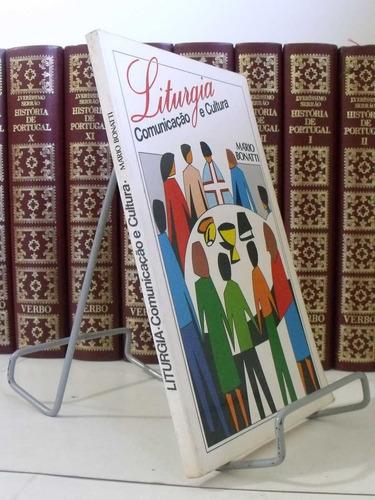 livro - liturgia - comunicação e cultura