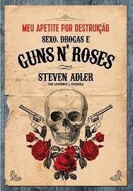 livro livro guns n' roses meu apetit steven adler