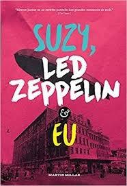 livro livro suzy, led zeppelin e eu martin millar