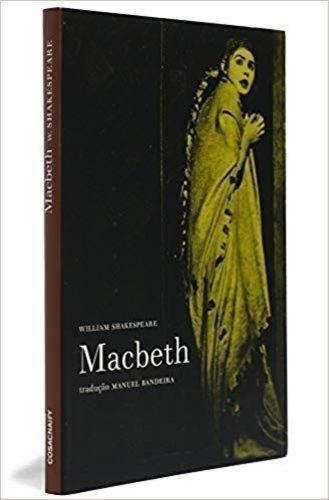 livro macbeth william shakespeare adap. manuel bandeira