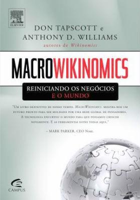 livro macrowikinomics reiniciando os negócios + brinde