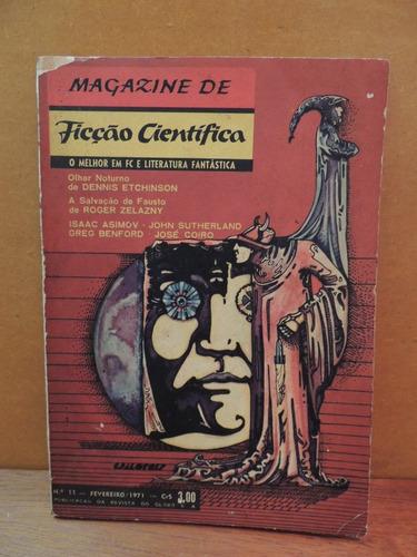 livro magazine de ficção científica n. 11 fevereiro 1971