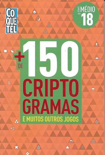 livro mais de 150 criptogramas nº 18