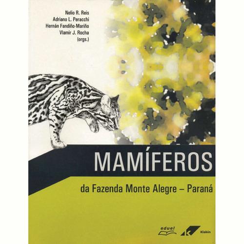 livro mamíferos da fazenda monte alegre  paraná