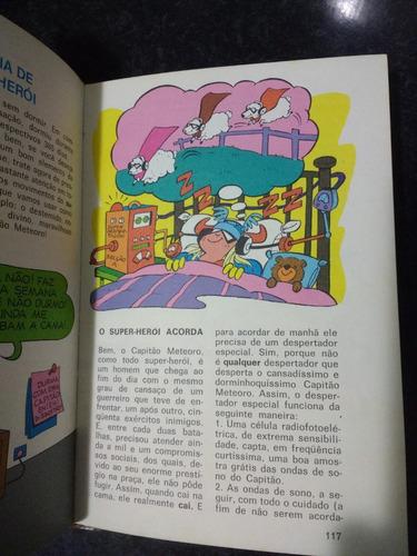 livro manual do super-heroi - editora ideia 1976 rjhm
