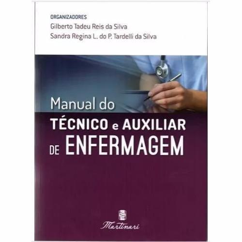 livro manual do tecnico e auxiliar de enfermagem