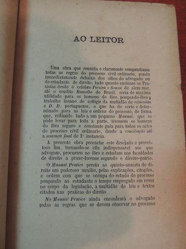 livro manual prático do advogado josé tito nabuco de araujo
