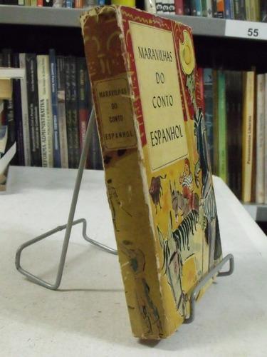 livro maravilhas do conto espanhol - diversos