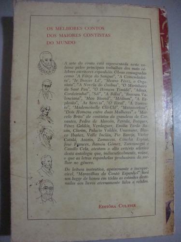 livro   maravilhas do conto espanhol   miguel de cervantes
