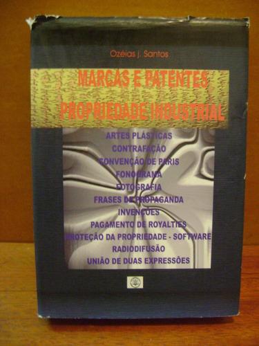 livro marcas e patentes propriedade industrial ozéias santos