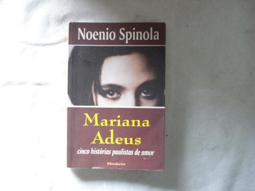 livro - mariana adeus - noenio spinola