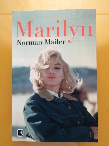livro marilyn monroe - norman mailer - português - novo