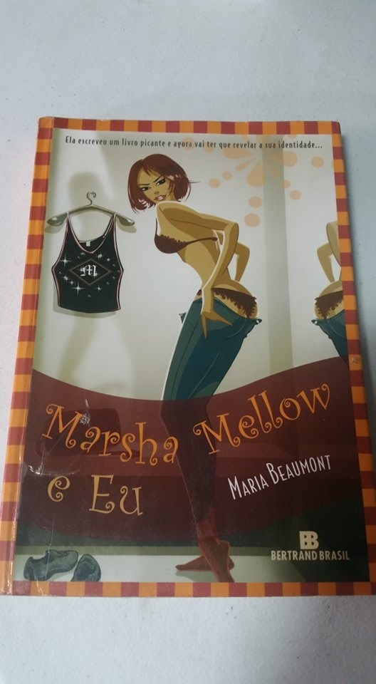 livro marsha mellow e eu