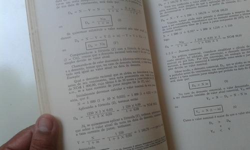 livro - matemática financeira - clovis de faro