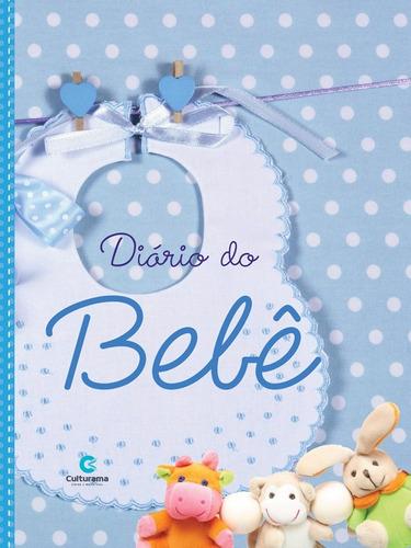 livro maternidade bebe diario recordacao menino azul