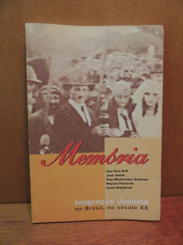 livro memória imigração judaica no brasil ana vera boff