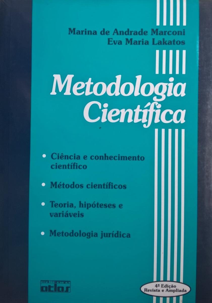 Livro Metodologia Científica 4ª Ed. Marina Marconi Lakatos