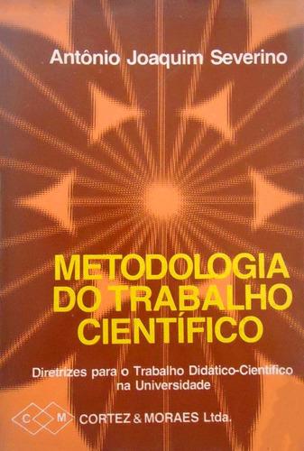livro metodologia trabalho científico antônio tcc monografia