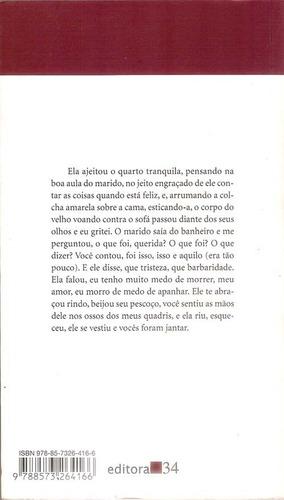livro meu amor beatriz bracher romance 146 páginas.