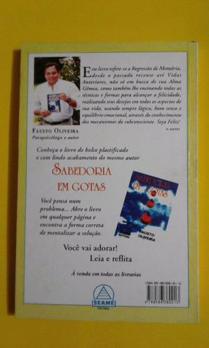 livro meu anjo, de fausto oliveira