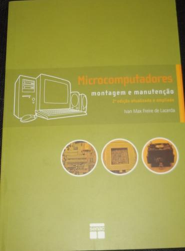 livro microcomputadores - montagem e manutenção