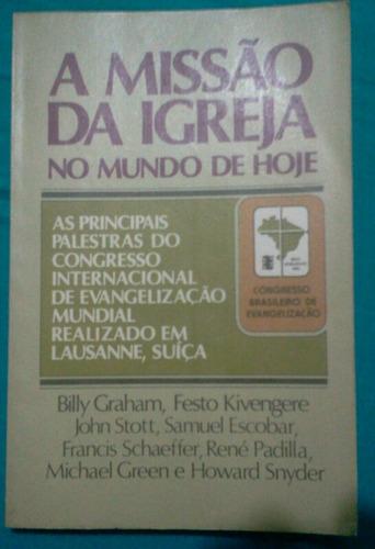 livro missão da igreja no mundo de hoje  ed abu