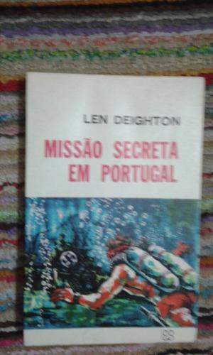 livro - missão secreta em portugal. len deighton
