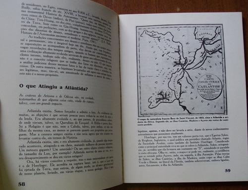 livro mistérios, alienígenas, deuses, atlântida ilustrado