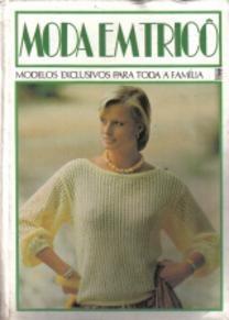 livro moda em tricô * 1984