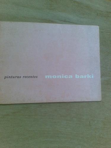 livro - monica barki - pinturas recentes