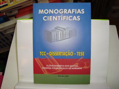 livro - monografias científicas - tcc - dissertação - tese
