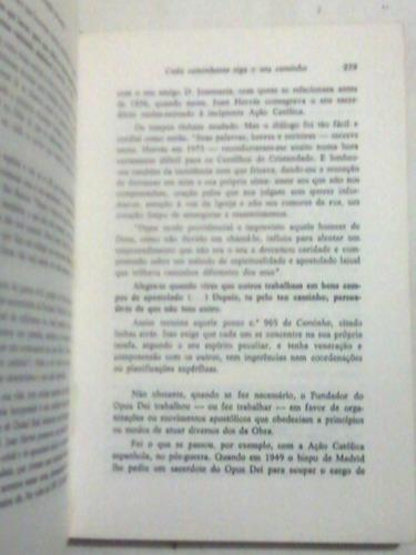 livro:  mons. josemari'a escriva' de balaguier - opus dei