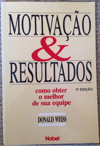 livro - motivação & resultados